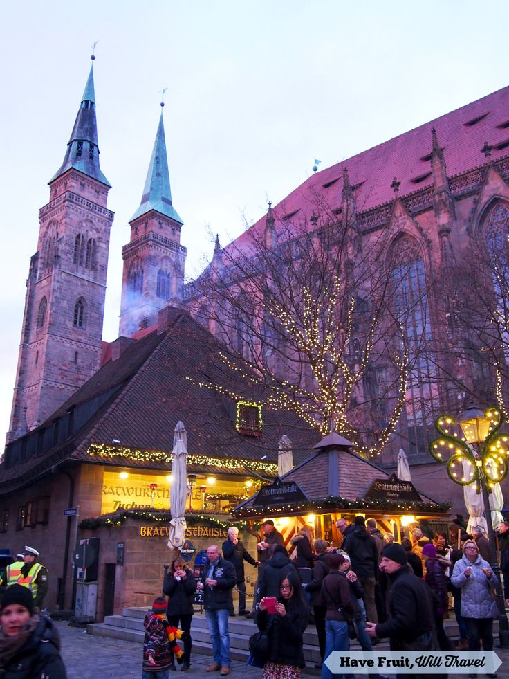 Nuremberg, Germany for Christmas