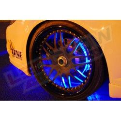 Blue Flexible LED Wheel Well Lights