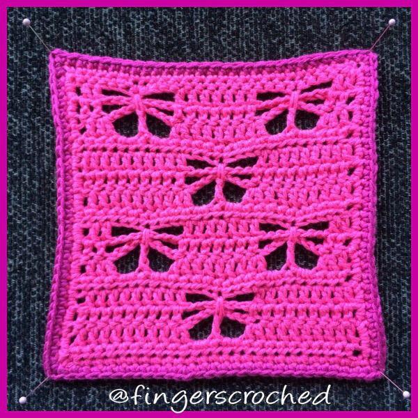 Äntligen hittat en fjärilsruta! #Crochetbutterfly #butterfly #crochet #virkafjäril #virka #fjäril