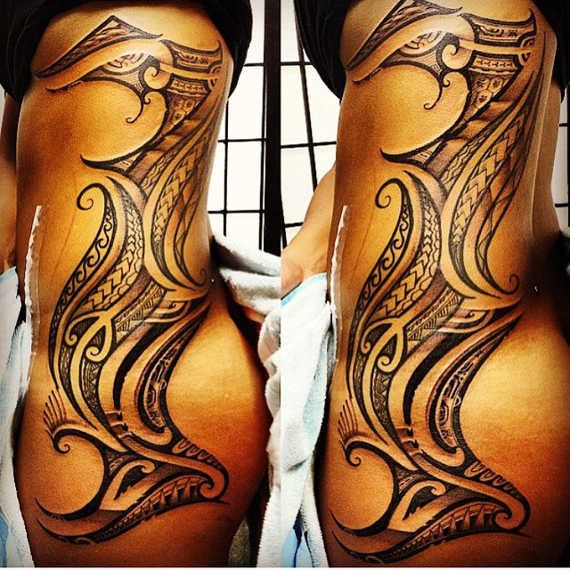 Polynesian Tribal Tattoo Designs Meanings