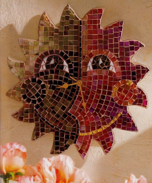 Mozaicuri - Ceas solar