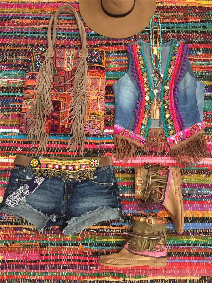 Festival boho hippie style