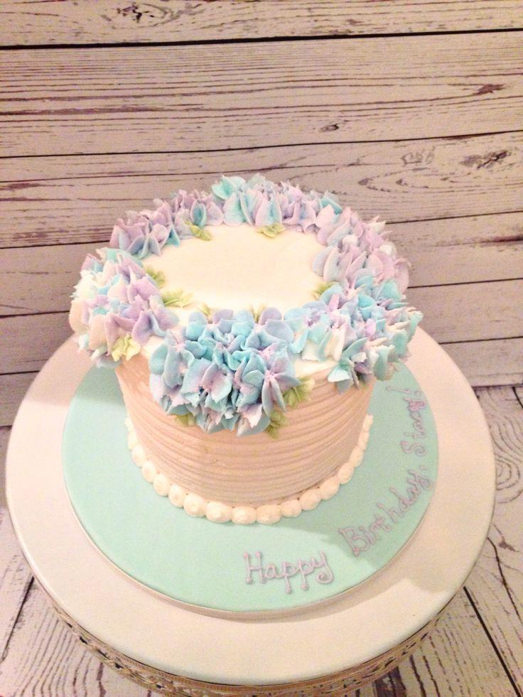 Hydrangea Cake By Amy Hart Buttercream Flowers Cake