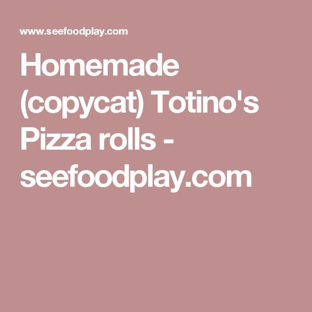 Homemade (copycat) Totino's Pizza rolls - seefoodplay.com