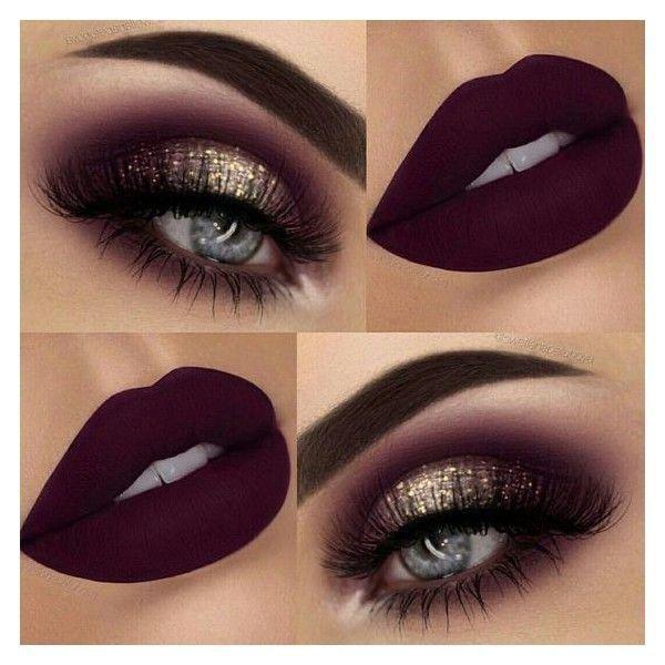 Dunkles elegantes Make-up