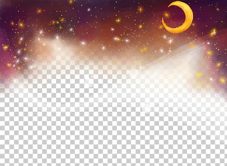 Night Sky Png Adobe Illustrator Background Background Elements Blue Sky Cartoon Night Skies Sky Png
