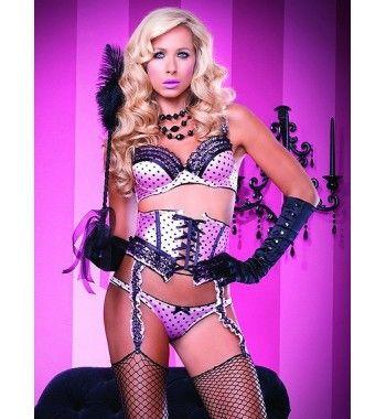 Pink Burlesque by Leg Avenue - Burlesque - Sexy Lingerie
