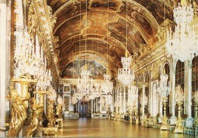 Spiegelzaal in het Versailles, Paris