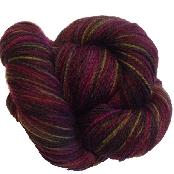 Supersock - Pinot noir #sokkegarn #abstractfiber #garnkurven