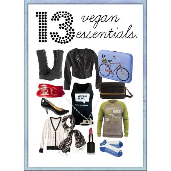 Vegan Fall Fashion Essentials, more here: http://www.peta.org/living/fashion/fashion-friday-13-vegan-fashion-essentials.aspx by officialpeta, via Polyvore #crueltyfreefashion #compassionatefashion