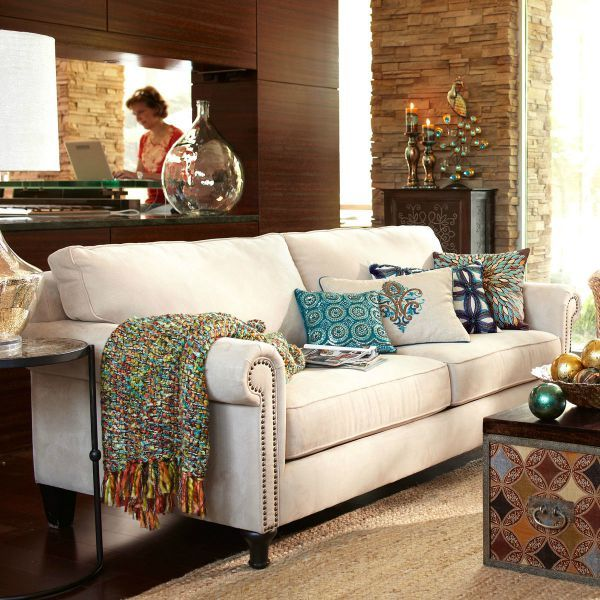 Pier 1 Imports Alton Sofa in Ecru