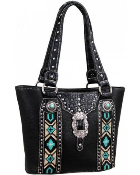Montana West Western Aztec Tote Bag