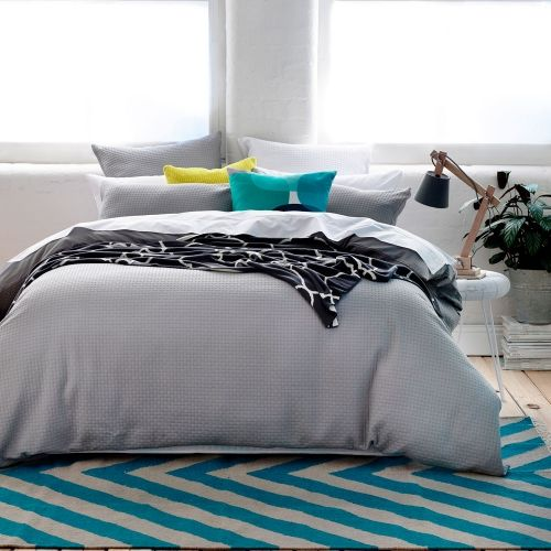 Home Republic Brooklyn Waffle - Bedroom Quilt Covers  Coverlets - Adairs Online