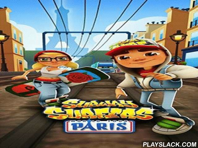 Subway Surfers: World Tour Paris  Android Game - playslack.com , The protraction of ventures of rival heroes in the most romantic municipality of the world - Paris.
