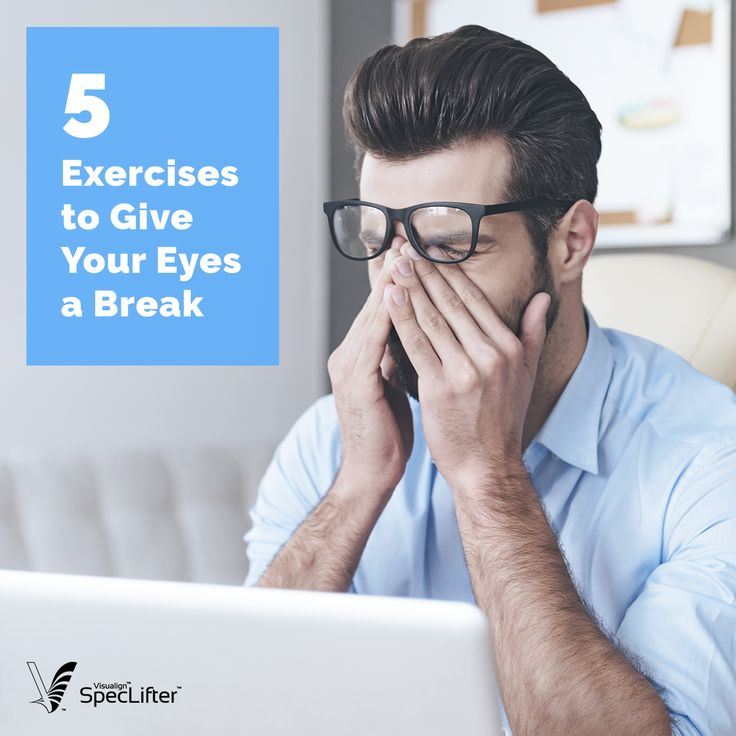 Nearly 70 percent of Americans suffer from digital eye strain as a result of using computers. Reduce the stress on your eyes with these simple exercises!