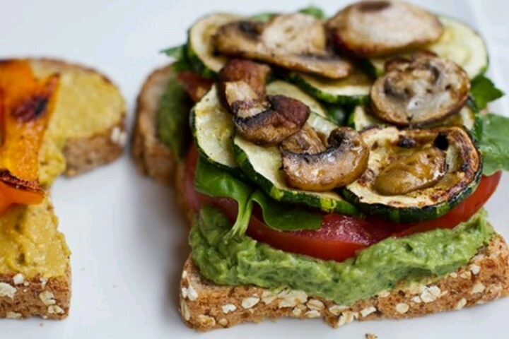 images about Veggie Sandwiches-Roasted-Grilled on Pinterest | Roasted ...