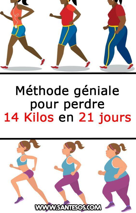 Méthode géniale pour perdre 14 Kilos en 21 jours