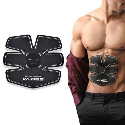 IMATE IM-051  - $37.99  Smart Muscle Stimulator Training Gear for Abs BLACK   #IMATE, #Muscle, #Training, #Gear, #gearbest, #тренажер    4153