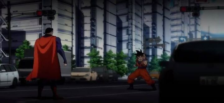Goku vs  superman  MUST WATCH #dbz #dragonballz #goku