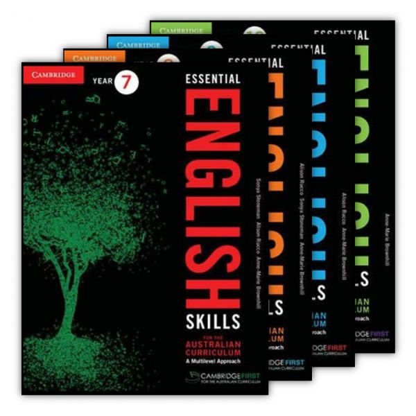 Essential English Skills for the Australian Curriculum: A Multi Level Approach. Essential English Skills for the Australian Curriculum has been revised to cover the language and literacy strands of the Australian Curriculum: English with a focus on introducing key language and literacy skills in Years 7 & 8 and consolidating and developing those skills in Years 9 & 10.