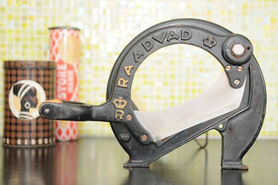 RAADVAD Bread slicer black by nORDICbYhEART on Etsy