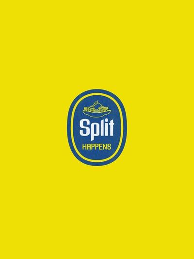 Split Happens by David Schwen #Illustration #Banana #David_Schwen