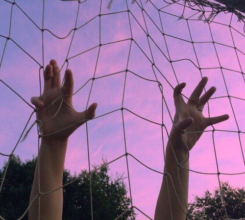 grunge, pink, and sky image