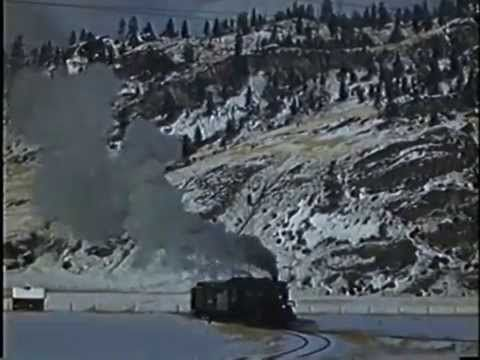 Film of a CPR Steam Train to Kootenay Lake and then the SS Moyie on the ...