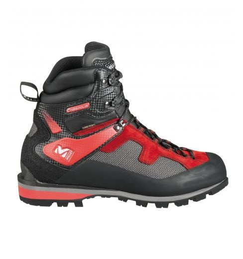 Charpoua Gore-Tex  Millet men shoes for alpinism.  Comfortable, flexible, lightweight and versatile mountaineering boot. Ideal for easy summer mountaineering, glacier approach work, highaltitude walking, and winter snowshoeing. Originated and tested in the Mont Blanc Massif, made in Italy.