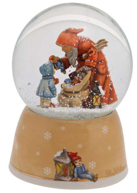 184 best snow globes images on pinterest water balloons for Rostfiguren weihnachten