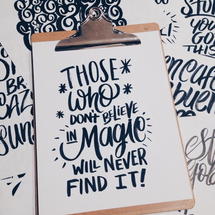 Lettering Daily : Photo