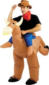 Bull Rider Costume for Adults
