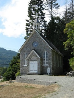 St Paul's Church, Fulford. Built in 1880 on SaltSpring Island