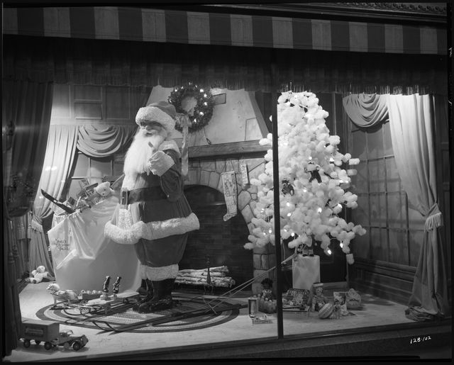 Christmas window display, Dayton's Department Store, Minneapolis. Photo by Norton & Peel, 1938. © Minnesota Historical Society. All rights reserved.