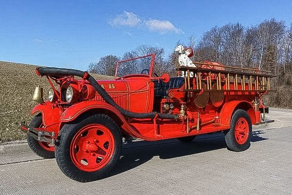 1929 Ford Model AA Fire Truck....