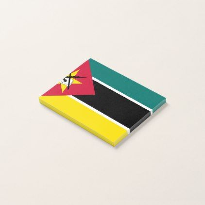 #Mozambique Flag Post-it Notes - #office #gifts #giftideas #business