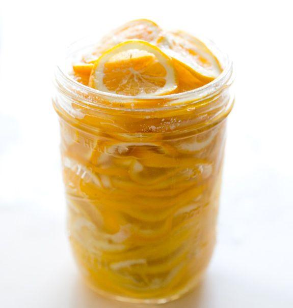 PRESERVEDLEMONS 7-9 small meyer lemons (regular lemons will also do but i prefer meyer when possible!)  roughly 1/4 cup of sea salt