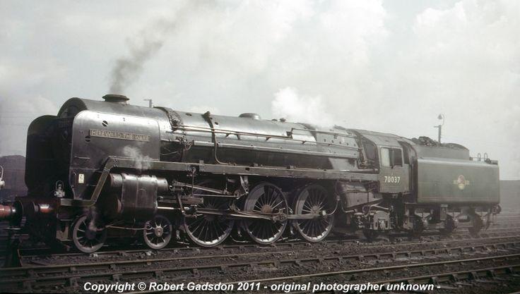 britannia pacific locomotives - Google Search