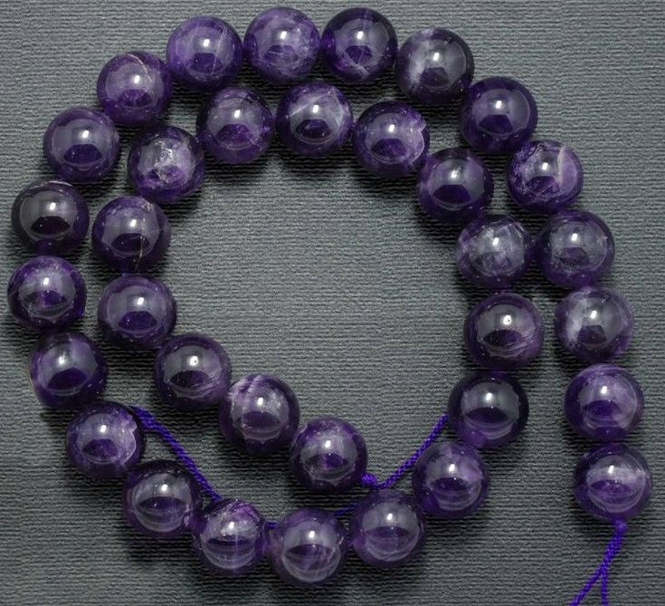 Natural Amethyst Beads, Purple Wholesale Gemstone beads, Stone Beads, Spacer Beads, Round Natural Beads 2mm 3mm 4mm 6mm 8mm 10mm 12 mm http://etsy.me/2GGWAfb