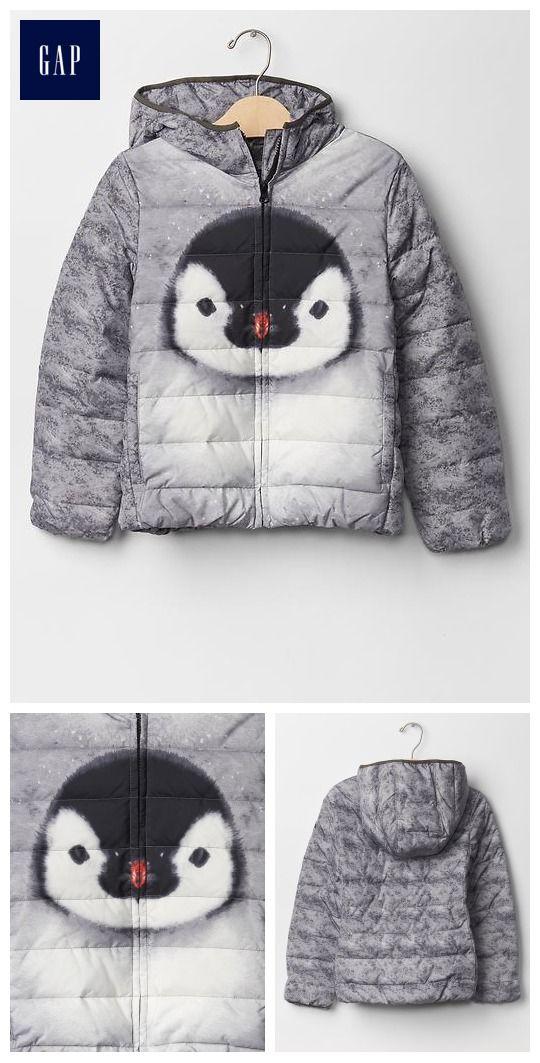 Penguin puffer - Cutest Kids' Coat Ever!!!!!!!  :) :) :)