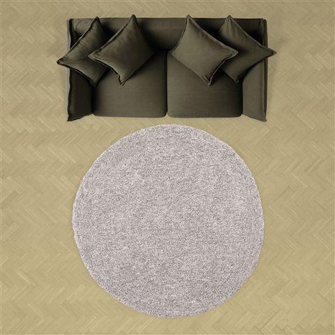 φ1500 リーナ ラグ ラウンド グレー(グレー) Francfranc(フランフラン)公式サイト|家具、インテリア雑貨、通販