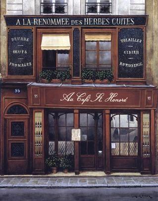 ysvoice:    | ♕ | Au Café St-Honoré, Paris | via somewhere71 | manoelwilliam
