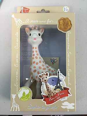 http://www.dressesforbabygirls.com/category/sophie-the-giraffe/ Vulli Sophie the Giraffe La Baby Teether Natural Rubber Pacifier Squeaker Toy