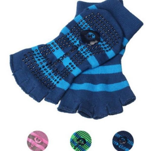 Exercise Gym Non Slip Massage Toe With Half Grip Calcetines Yoga Women Girl - JECKSION Pilates Socks Striped 5-Toe Yoga Socks