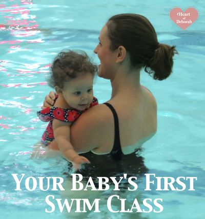 Our Baby's First Swim Lessons - Tips and tricks learning along the way for your baby's first swimming experience