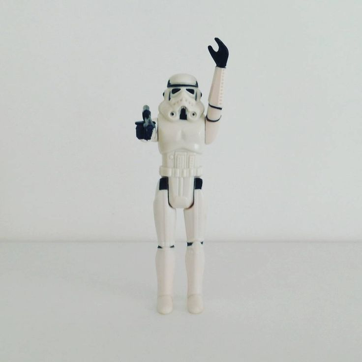 Stormtrooper (1977) Una nueva esperanza. A New Hope. Episode IV. Star Wars. The First 12 Figures of Kenner. Vintage.