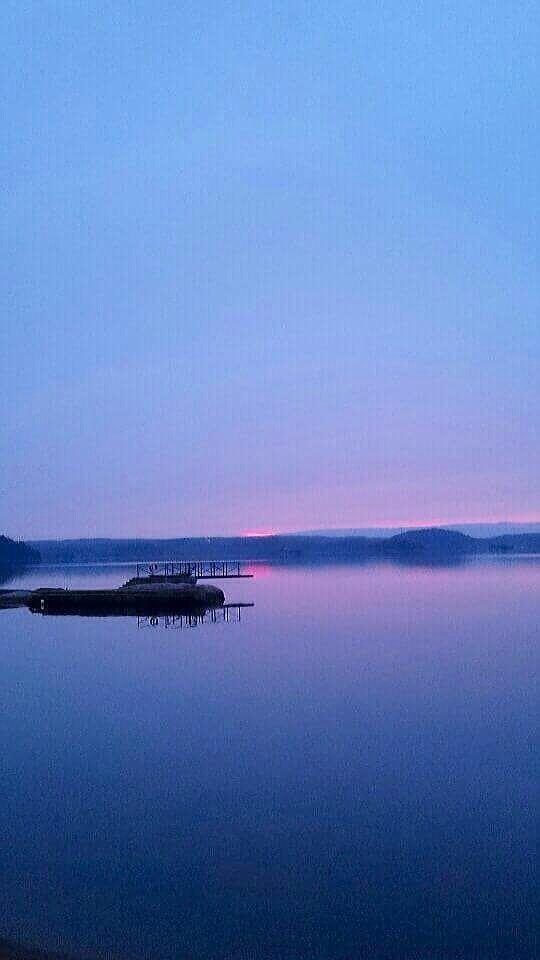 #solnedgång #sommarkväll #ljungskileviken #kungsparken #rosa #blått #hav #sommar #vackervy