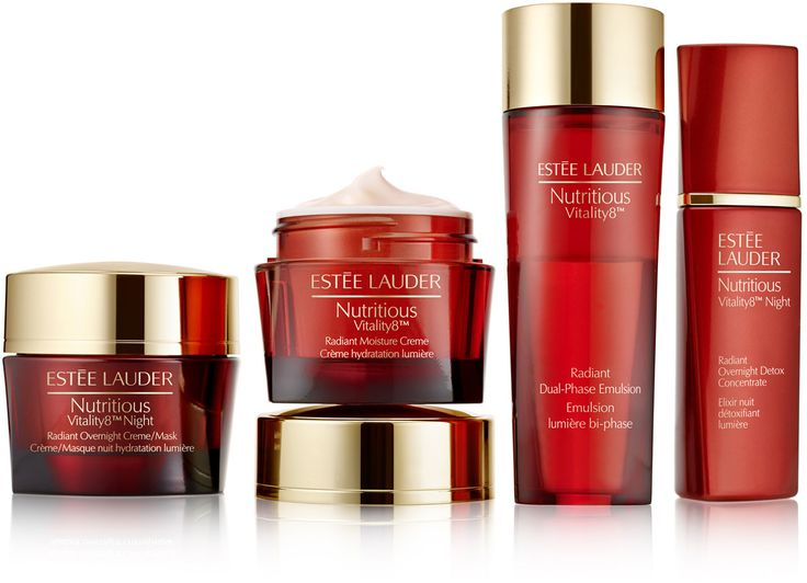 Estée Lauder Nutritious Vitality8™ Radiant Dual-Phase Emulsion is a lightweight emulsion that instantly revives and refreshes the skin's radiance. The dual-...