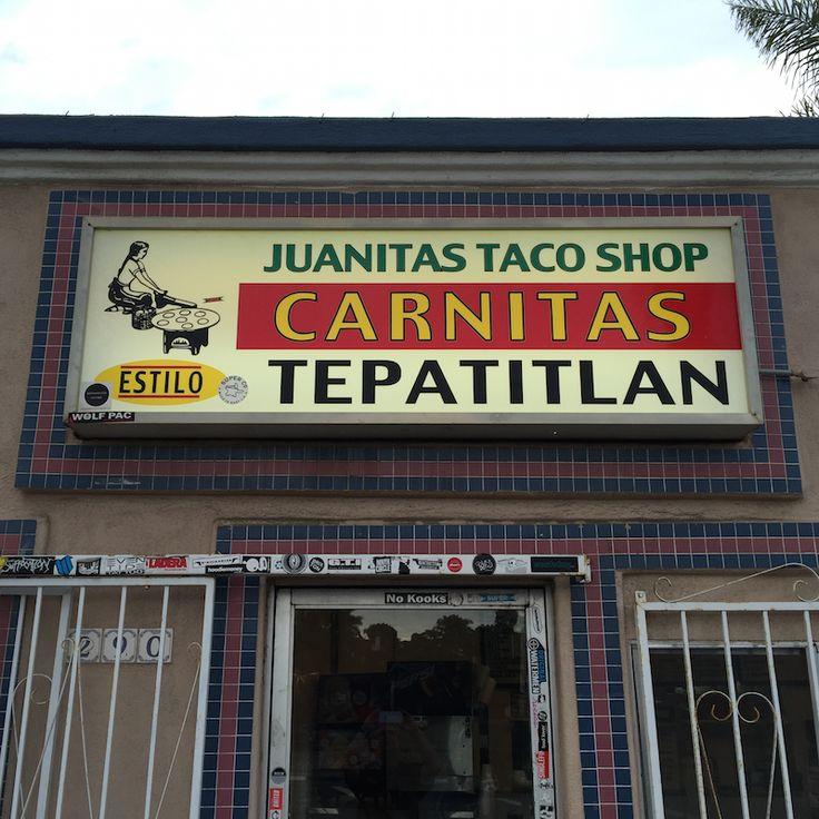 Best Taco Shop Ever!!!! Juanita's Taco Shop in Encinitas, CA (near San Diego)