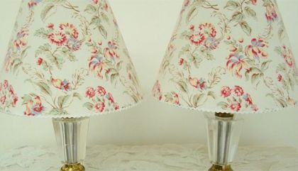 Obsession : lampes décoratives